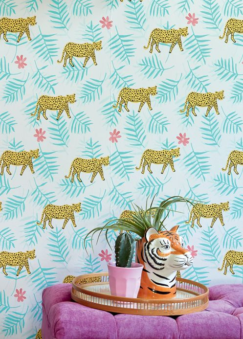 Funky Wallpaper Wallpaper Kabbo white Room View