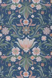 Wallpaper Sanna azure blue