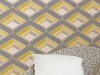 Wallpaper Corona yellow