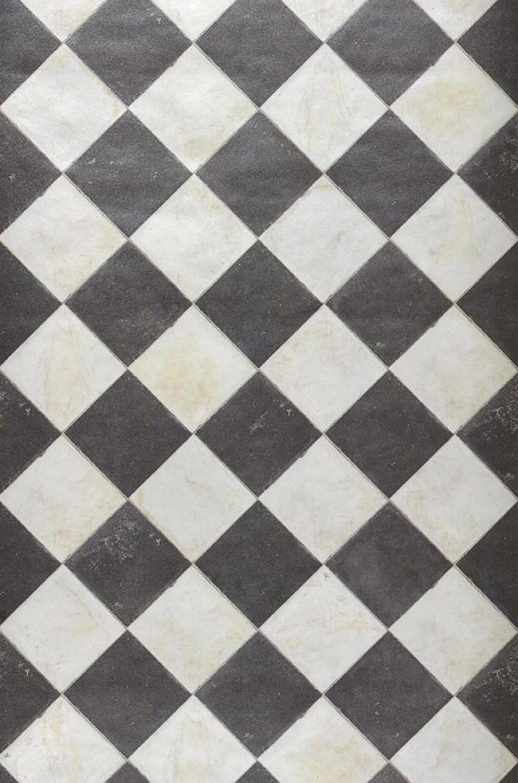 Wallpaper Marbel Chess Grey White Black Brown