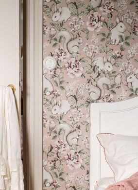 Wallpaper Twiggy light brown Raumansicht