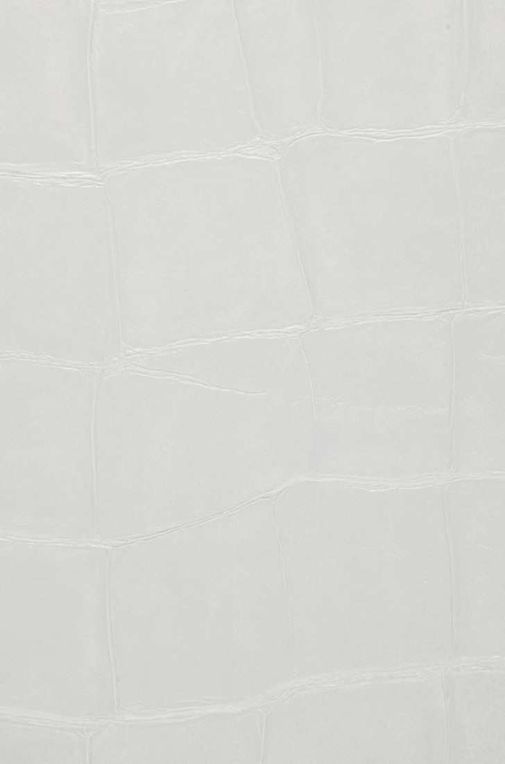 croco 12 blanc blanc papier peint cuir mati res. Black Bedroom Furniture Sets. Home Design Ideas