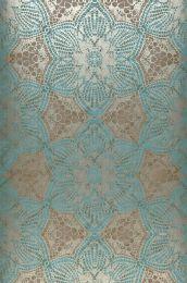 Wallpaper Marrakesh turquoise blue