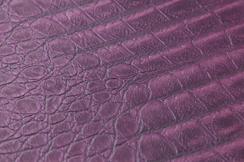 tapete gavial purpurviolett rotviolett tapeten der 70er. Black Bedroom Furniture Sets. Home Design Ideas