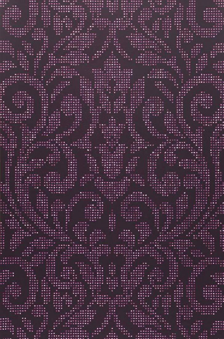 tapete lynda dunkelviolett hellviolett tapeten der 70er. Black Bedroom Furniture Sets. Home Design Ideas