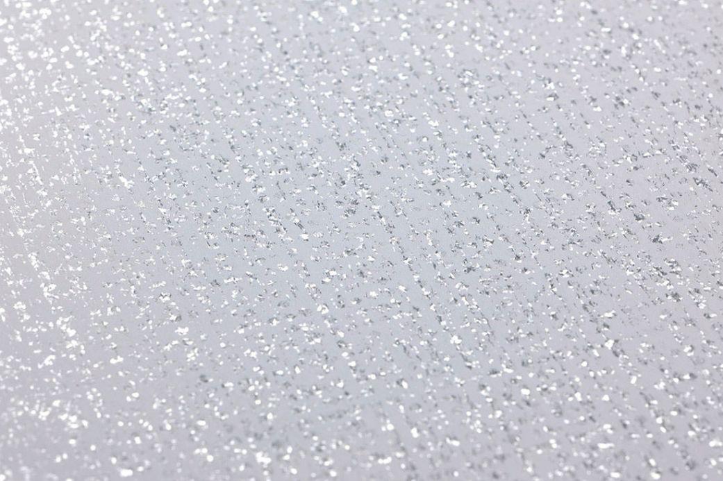 Metallic Wallpaper Wallpaper Noemi silver glitter Detail View