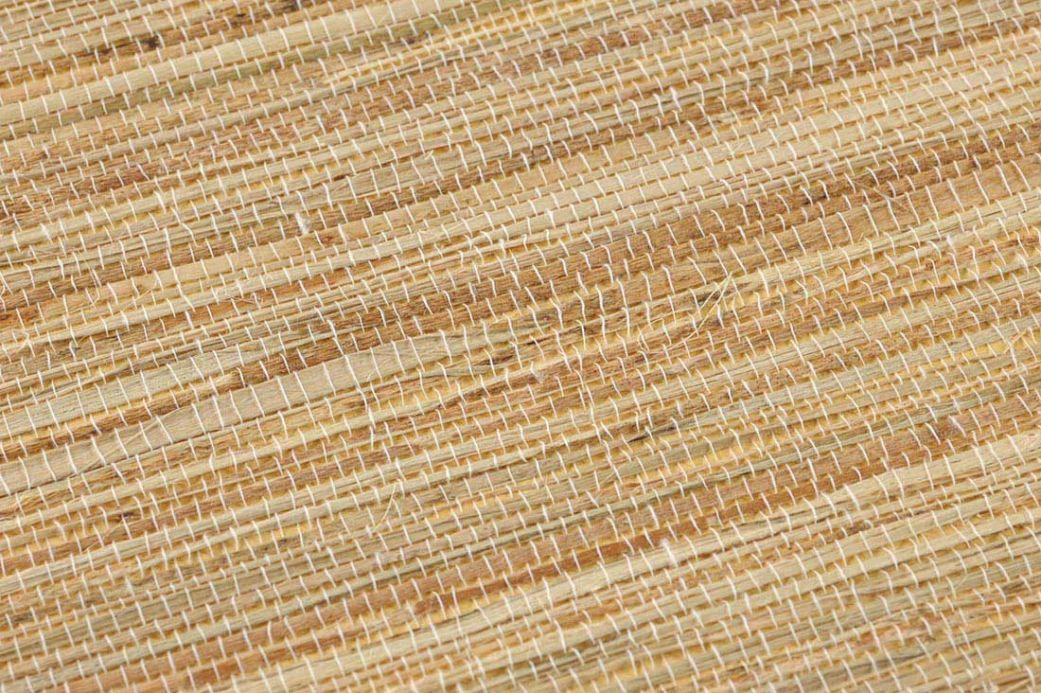 Papier peint brun Papier peint Grasscloth 08 brun pâle Vue détail