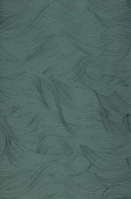 Papier peint Abanico vert menthe Bahnbreite