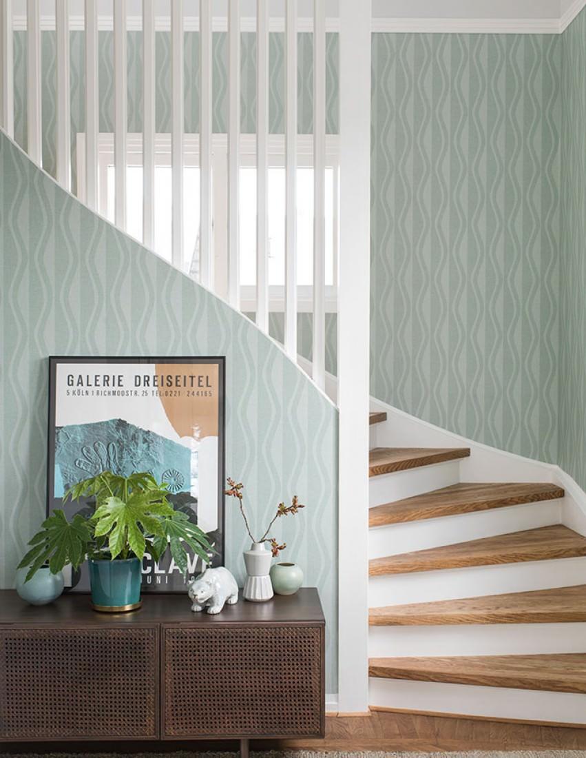 tapete eldor mintt rkis tapeten der 70er. Black Bedroom Furniture Sets. Home Design Ideas