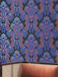 Wallpaper Demetrius blue