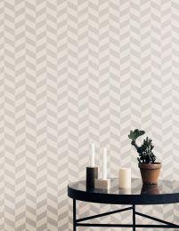 Wallpaper Angle platinum grey
