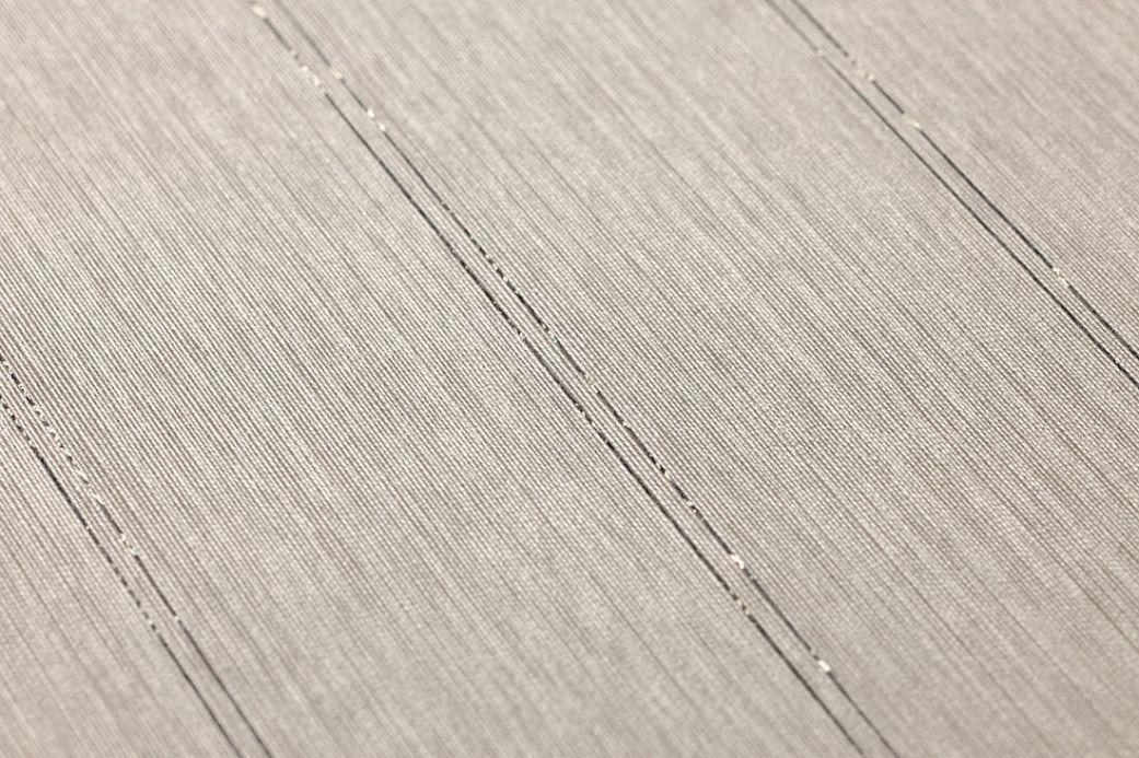 Archiv Carta da parati Viviane grigio beige Visuale dettaglio