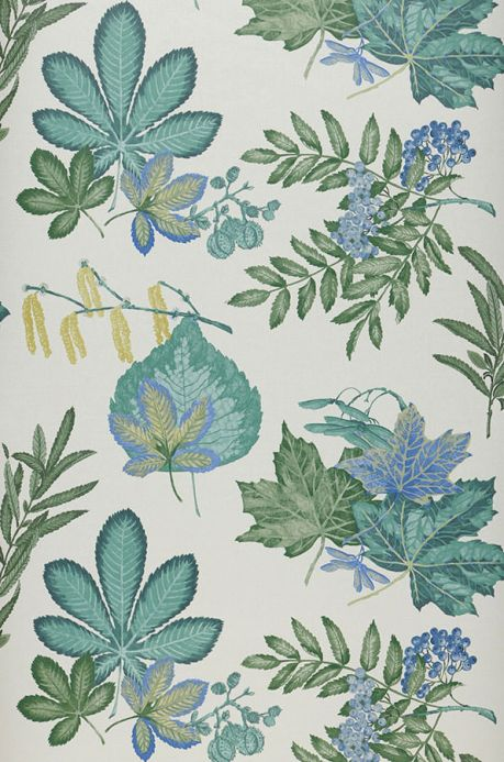 Archiv Wallpaper Samarina shades of green Roll Width