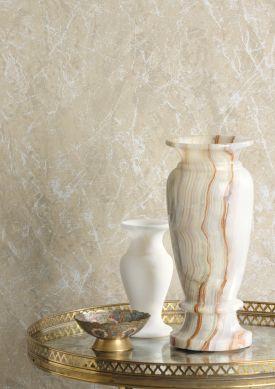 Papier peint Moscato Marble beige Raumansicht
