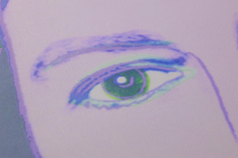 Andy warhol queen bleu oc an violet fonc vert jaune clair bleu pastel - Papier peint andy warhol ...