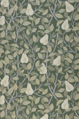 Papier peint Estelle vert foncé Bahnbreite