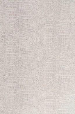 Papier peint Alligator gris beige clair Largeur de lé
