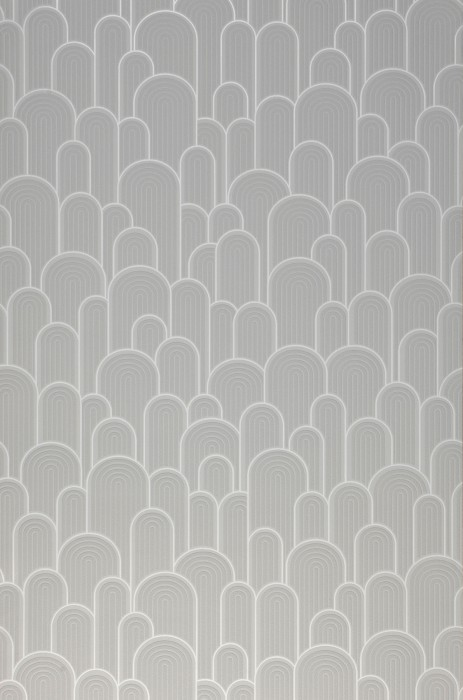 Wallpaper Fanti Matt Bends White Light grey