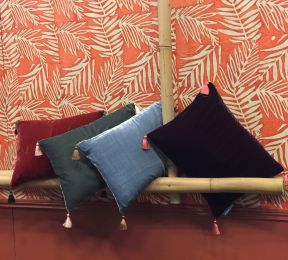 Papel de parede Lhamo laranja avermelhado