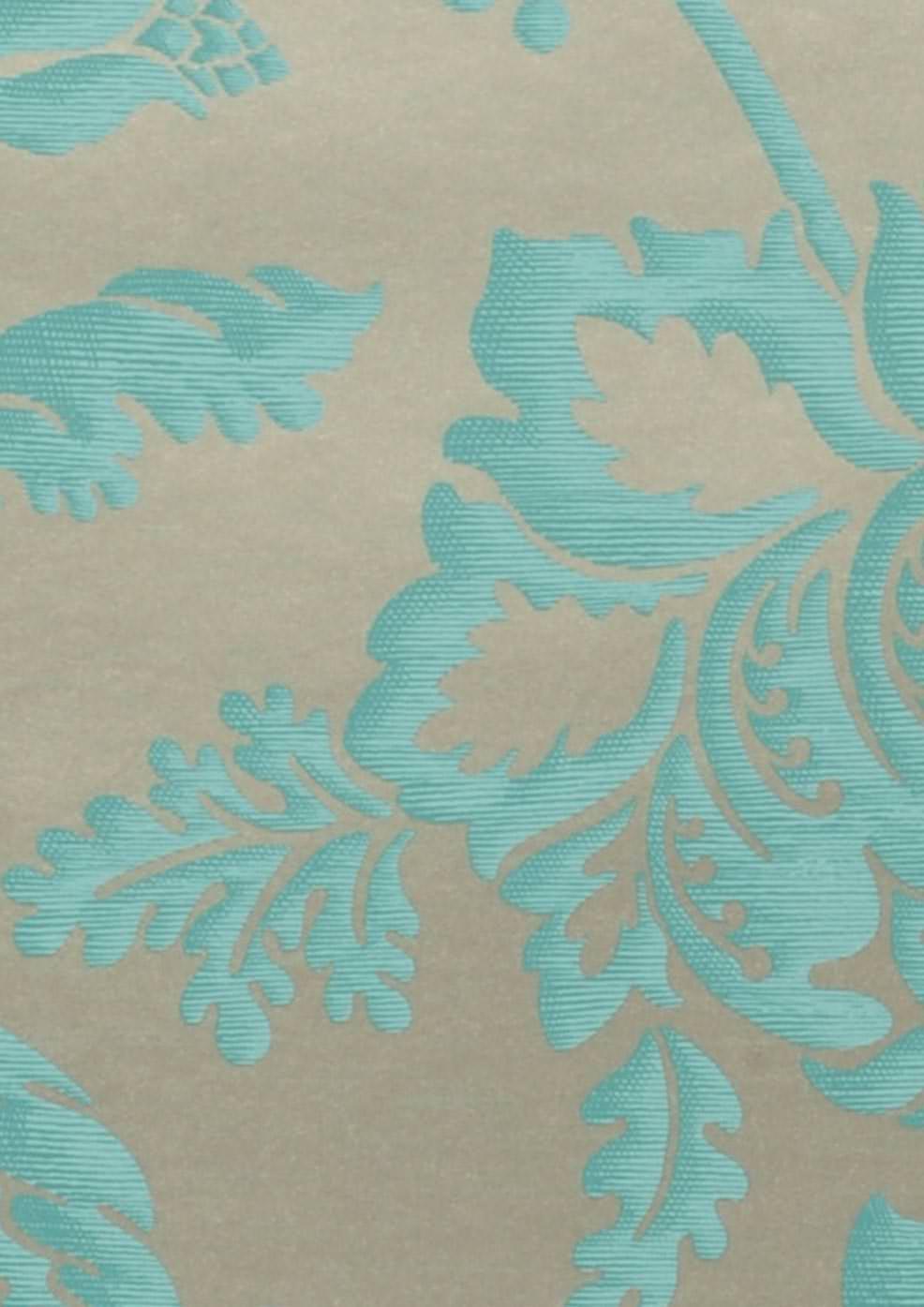 Ninkasi ouro branco azul turquesa papel de parede for Papel pintado azul turquesa