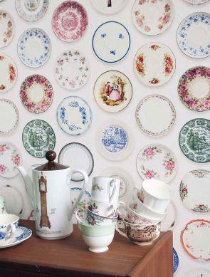 Carta da parati Porcellain 01 multicolore Visuale camera