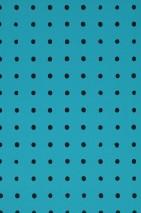 Wallpaper Nala Matt Dots Water blue Black