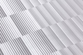 Wallpaper Serika Shimmering Graphic elements Stripes Grey White aluminium
