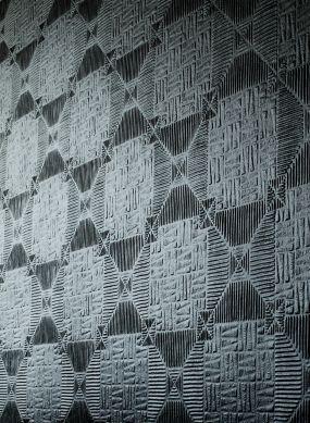 Papier peint Inca blanc Vue pièce