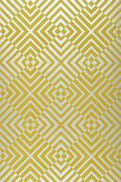 Carta da parati Nirvana verde giallastro