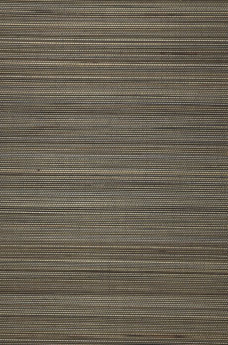 Natural Wallpaper Wallpaper Thin Bamboo Strips 03 grey brown A4 Detail