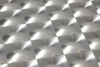 Wallpaper Cassiopeia Hologram effect Prisms Silver lustre