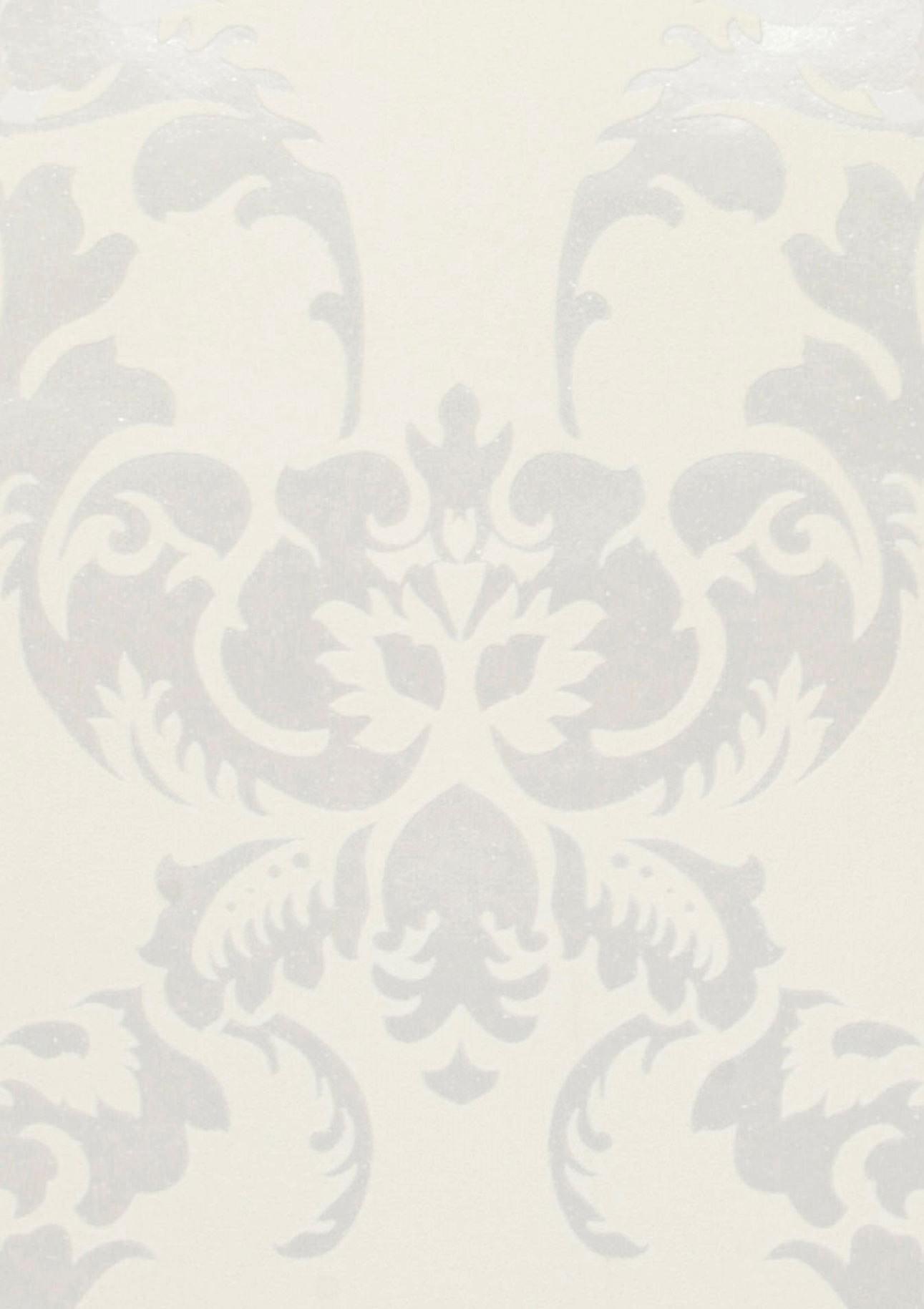 Carta da parati siemara bianco crema avorio chiaro for Carta parati argento