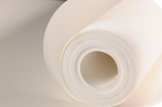 Wallpaper Lining paper Matt Solid colour White
