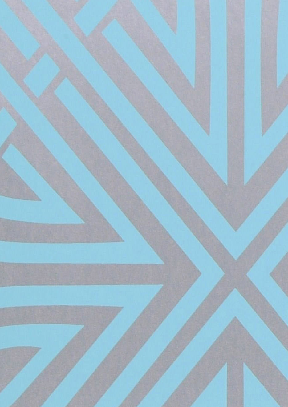 Papier peint chantico or blanc bleu turquoise papier peint des ann es 70 - Papier peint bleu turquoise ...