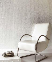 Wallpaper Kronos silver lustre