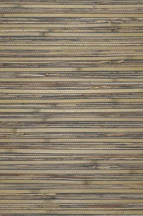 Wallpaper Natural Bamboo 01 Matt Solid colour Beige Green grey