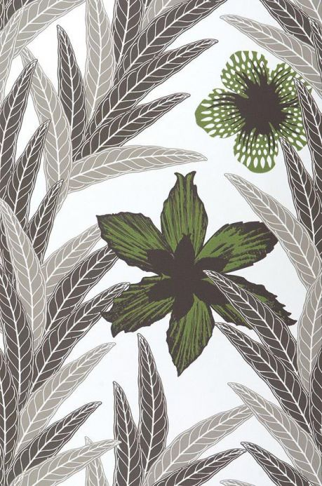 Archiv Papel pintado Jemima verde Ancho rollo