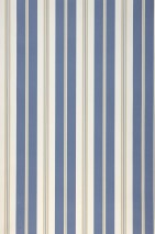 Wallpaper Aminta Matt Stripes Cream Light grey beige Light grey blue