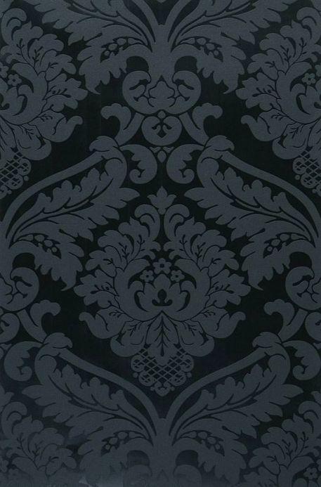 Wallpaper Wallpaper Rajah black Roll Width