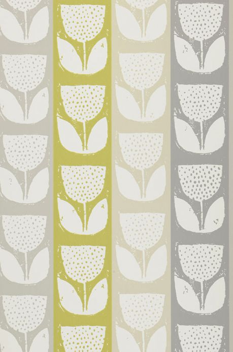 Archiv Wallpaper Ana yellow green Roll Width