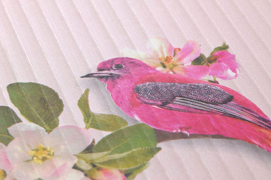 Archiv Papier peint Ornella rose pale Vue détail
