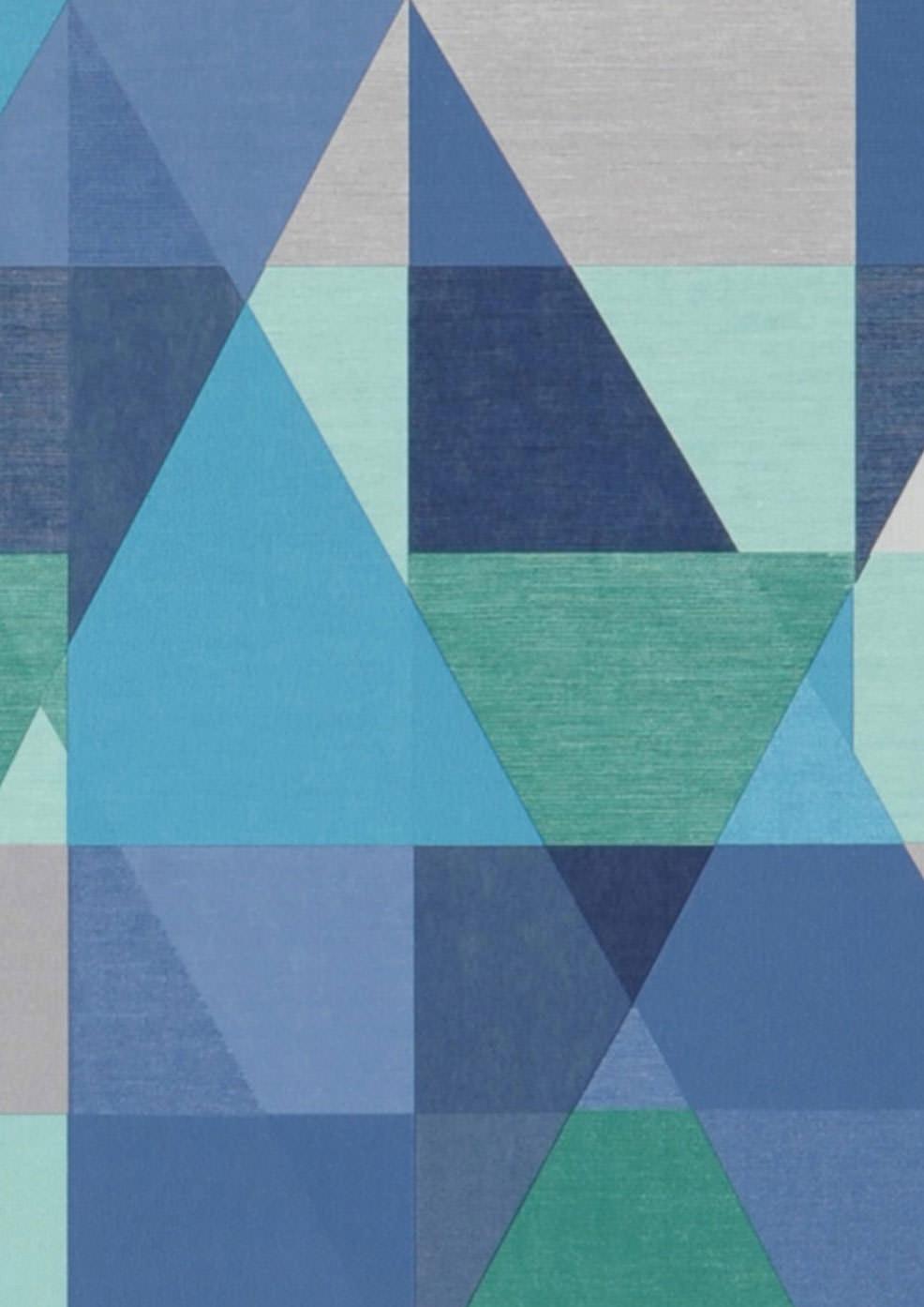Zewana bleu fonc blanc gris gris clair vert menthe for Couleur bleu turquoise fonce