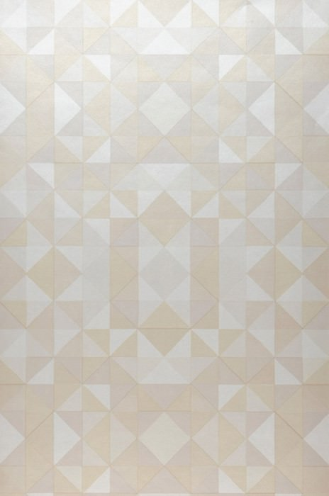 Wallpaper Sirius Matt Geometrical elements Beige Cream Grey beige Beige red