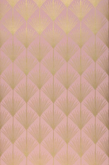 Archiv Papier peint Mayfair rosé clair Largeur de lé