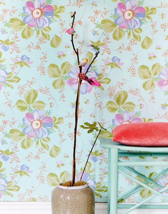Archiv Papel de parede Barbara branco esverdeado Ver quarto
