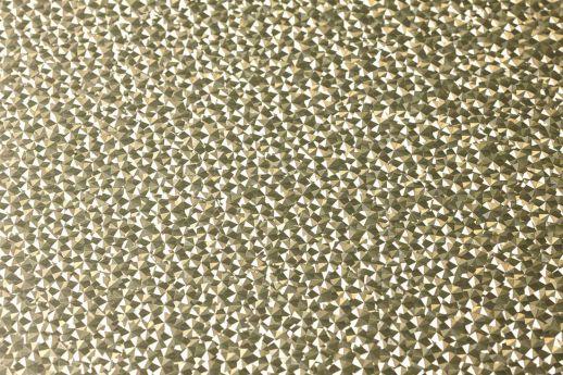 Papier peint Kewan or blanc lustre Vue détail