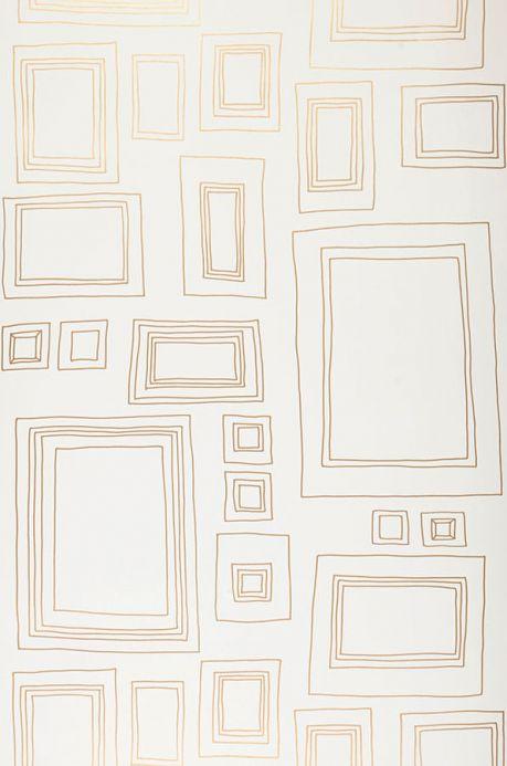 Archiv Wallpaper Frames gold Roll Width