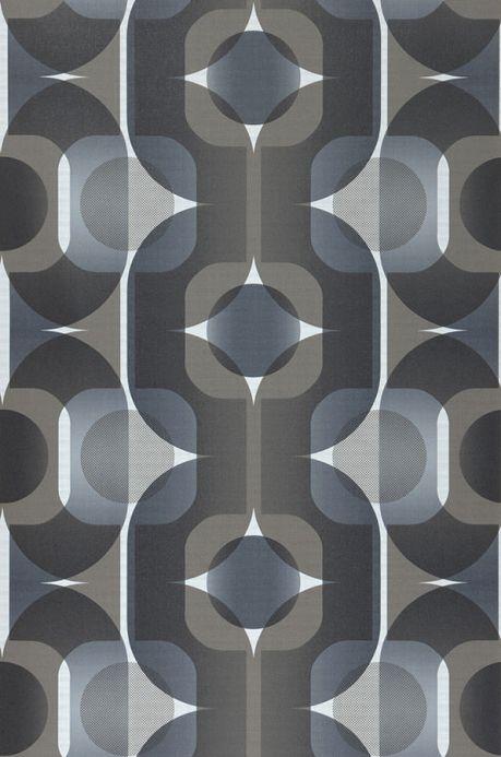 Archiv Wallpaper Sinon graphite grey Roll Width