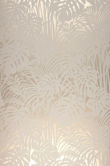 Flock Wallpaper Wallpaper Persephone cream Roll Width