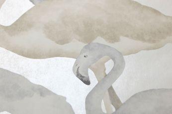 Carta da parati Amidala bianco crema